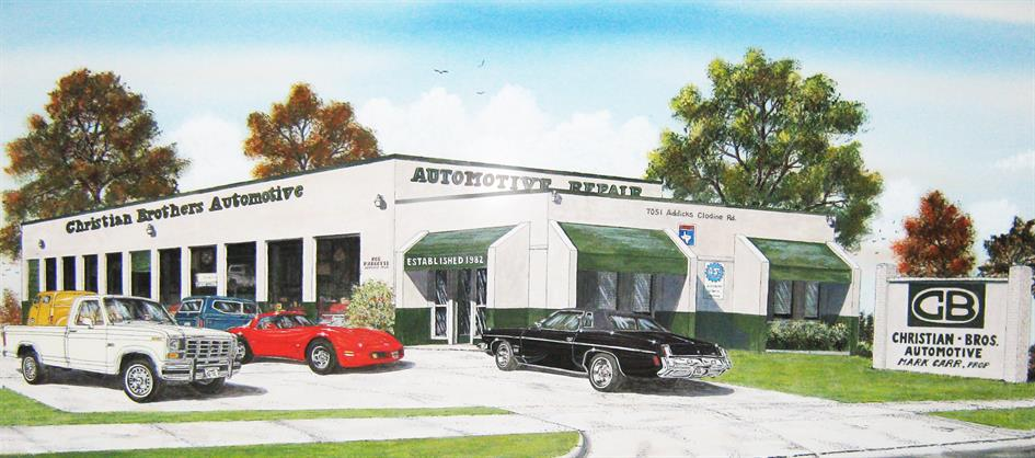 Christian Brothers Automotive Store Front Design